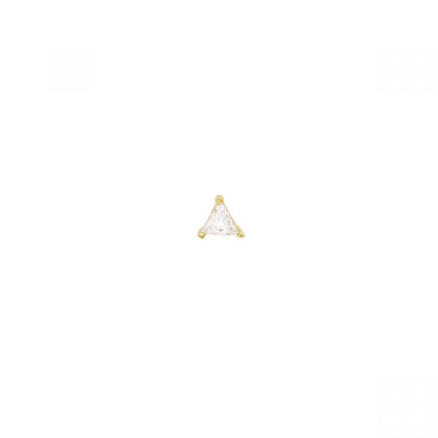 Piercing bañado en oro