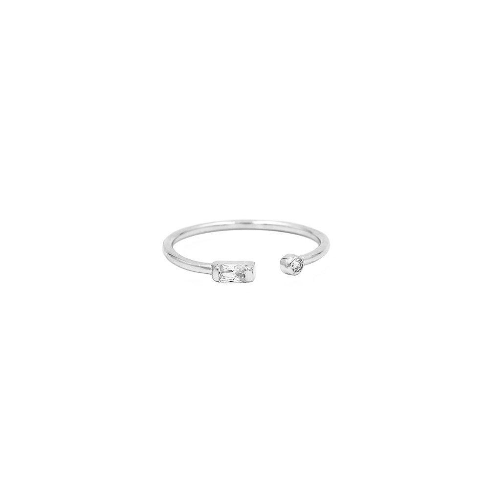 anillo abierto con ciconitas glow
