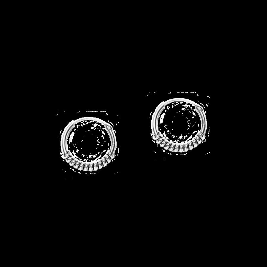 Pendientes de aro estilo bali de 14mm