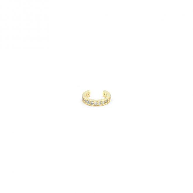 cartílago para la oreja con circonitas sin necesidad de agujero