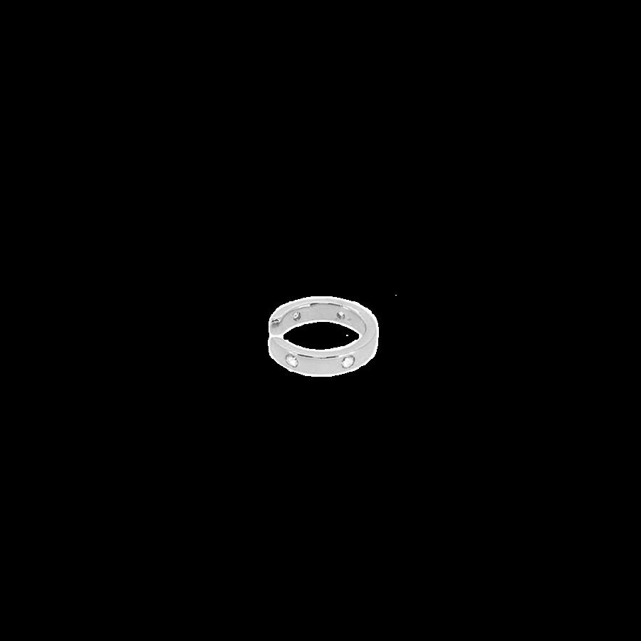 Aro falso para el cartílago orbital en plata de ley