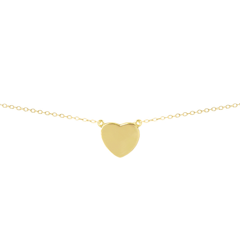 Colgante corazón oro