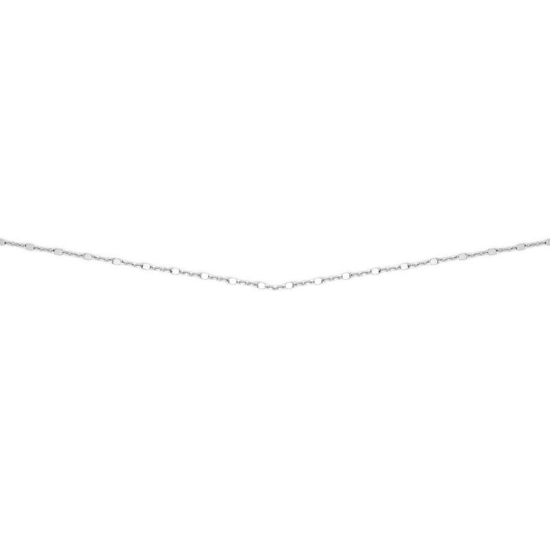 Cadena de plata finita para combinar con colgantes