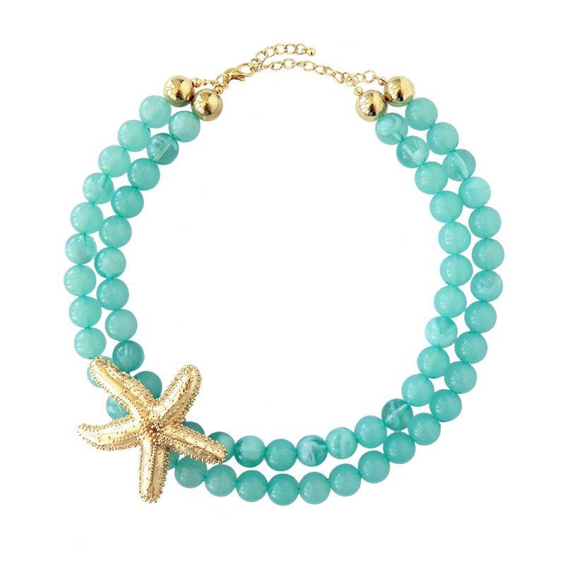 collar estrella de mar