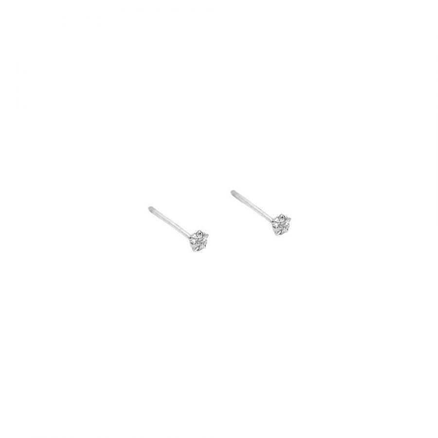 Pendientes de estrella tamaño mini