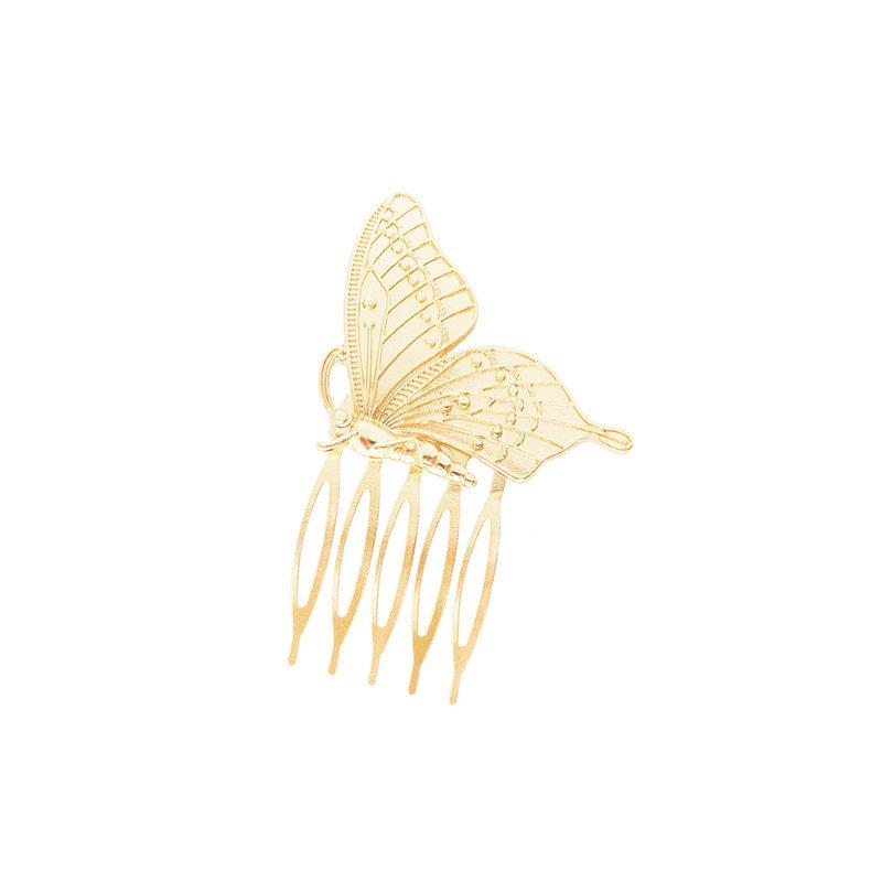 peineta mariposa