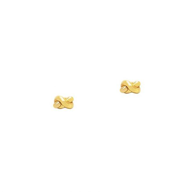 Pendientes Nudo Dorado