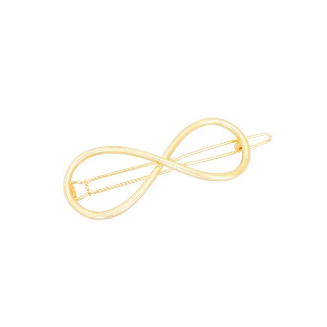 comprar pinza infinito dorada