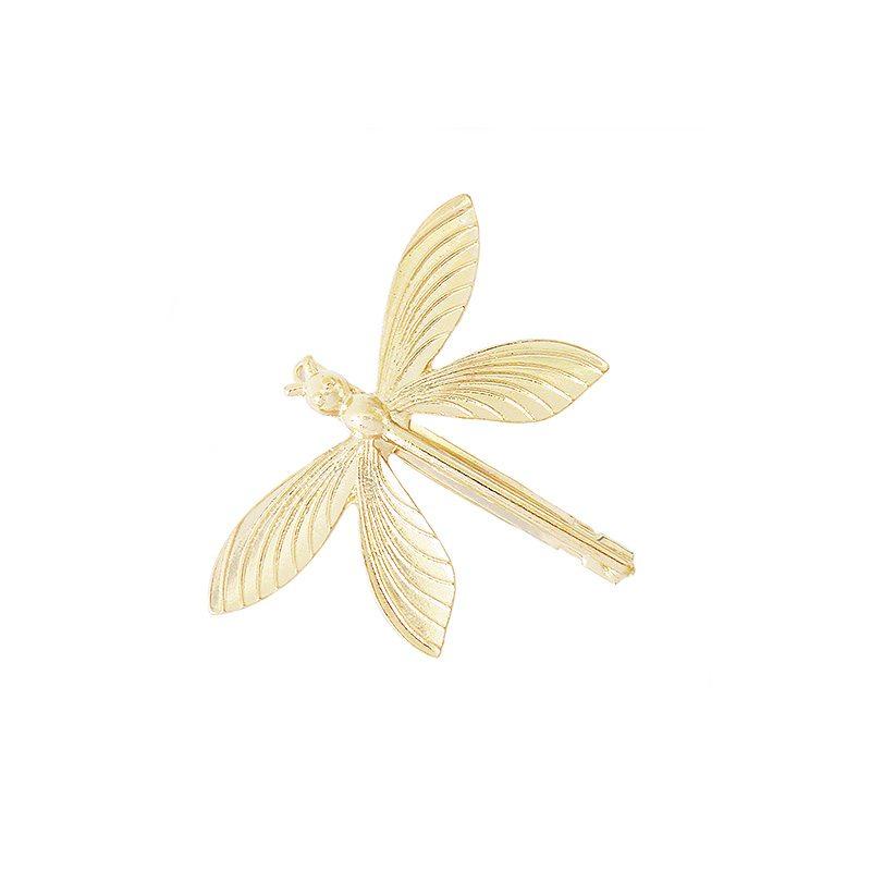 pinza pelo clip libélula