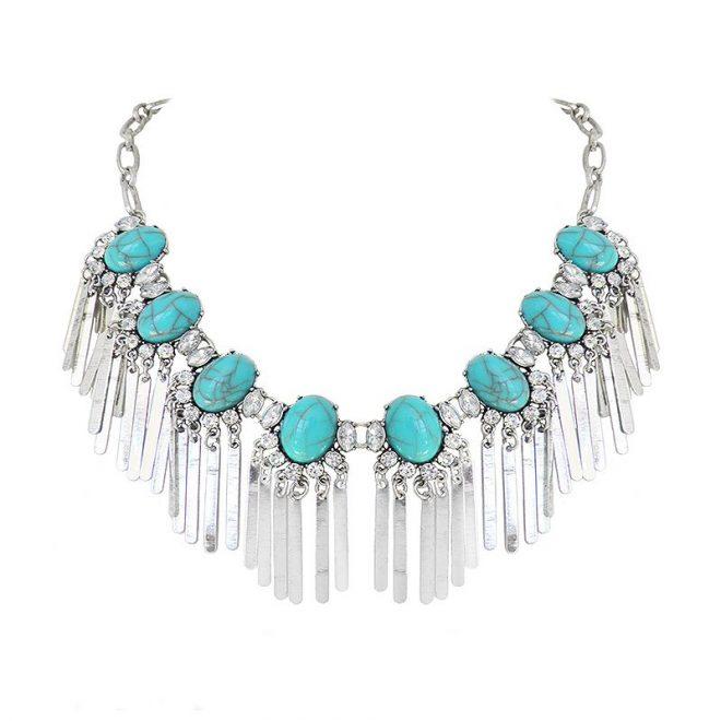 comprar collar gypsy turquesa
